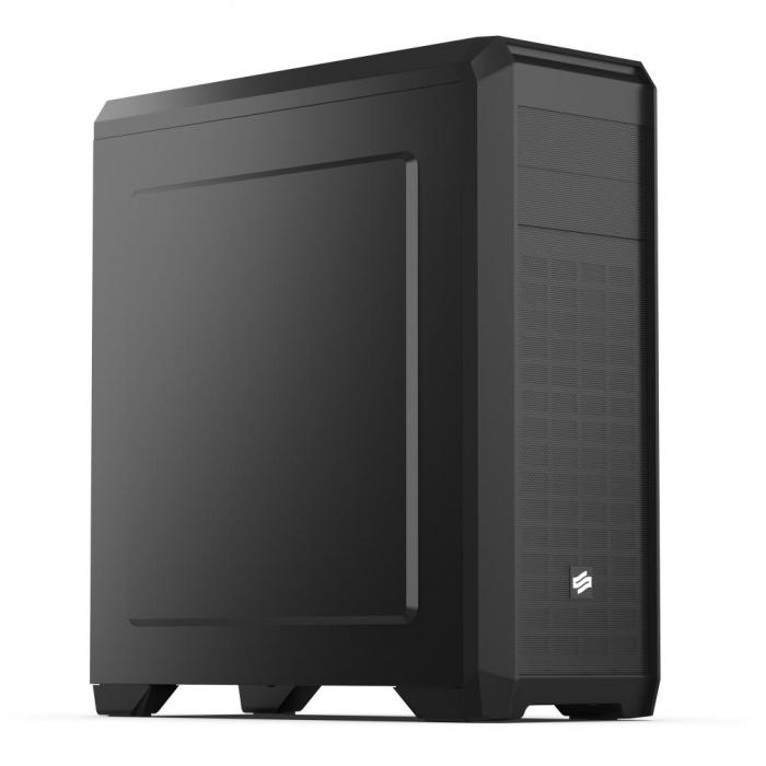 Carcasa SilentiumPC Regnum RG4 Pure Black 0