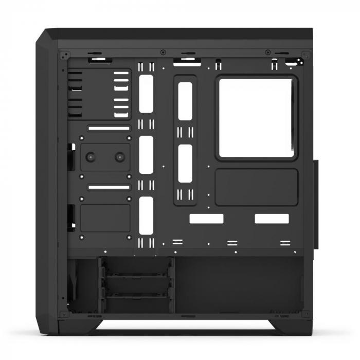 Carcasa Regnum RG4T Pure Black TG 3