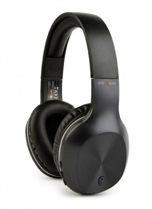 Casti Bluetooth Gembird Miami BHP-MIA Negre [0]