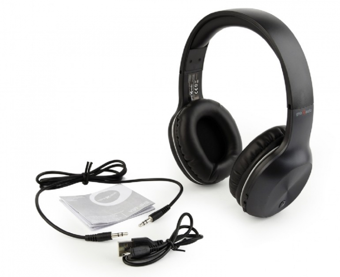 Casti Bluetooth Gembird Miami BHP-MIA Negre [2]