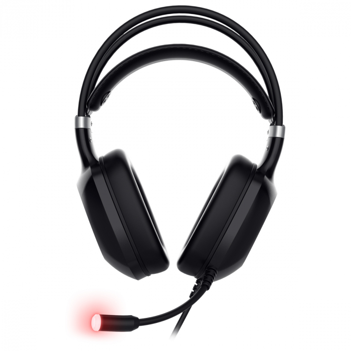 Casti gaming ABKONCORE CH55 VIRTUAL 7.1, microfon, vibratii, USB, negru [4]