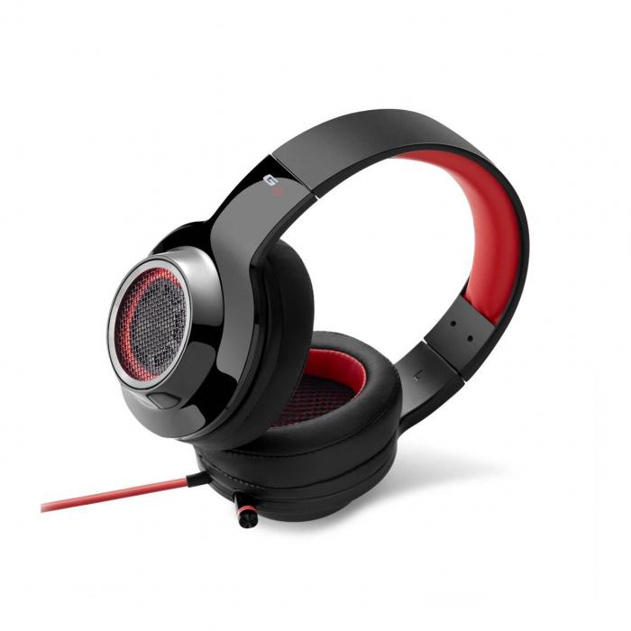 Casti gaming Edifier V4, black/red [1]
