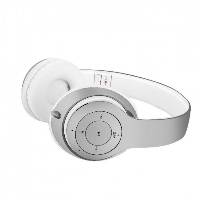 Casti Gembird Milano Silver-White [1]