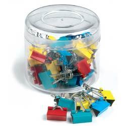 Clip hartie 15mm, 50buc/cutie, ARTIGLIO - culori asortate 0