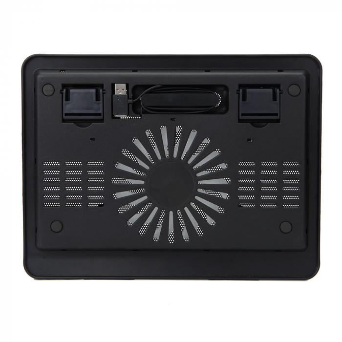 """Cooler Laptop Spacer SP-NC19 15.6"""", Negru 4"""