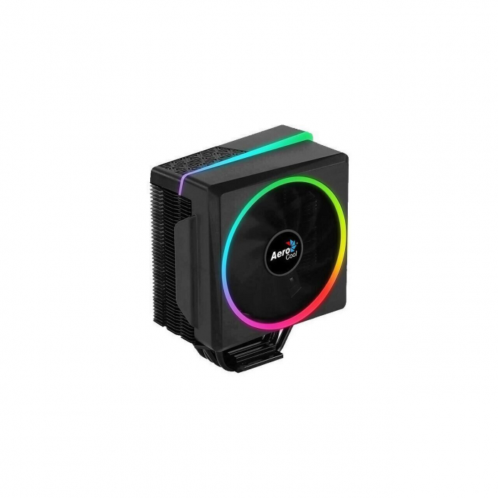 Cooler procesor Aerocool Cylon4 negru iluminare RGB [0]