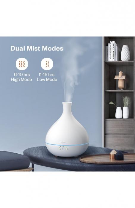 Difuzor aroma terapie Anjou AJ-AD012, 500ml, LED, auto oprire 8