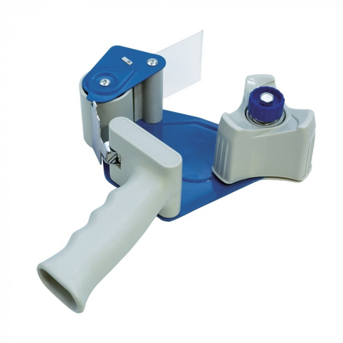 Dispenser pentru banda adeziva 50 mm x 66 m, pentru impachetat, DONAU 0
