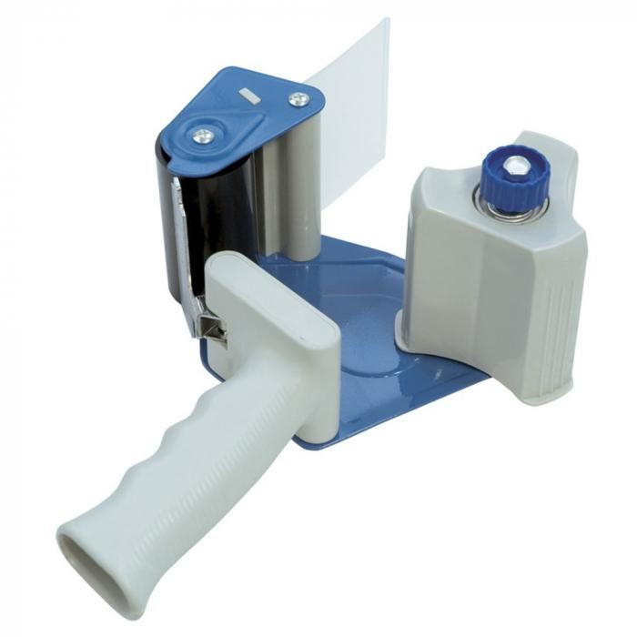 Dispenser pentru banda adeziva 75 mm x 66 m, pentru impachetat, DONAU 0