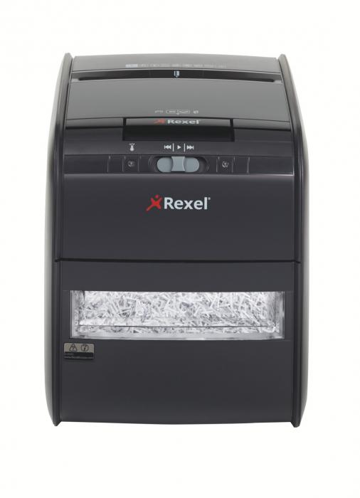 Distrugator Automat documente REXEL Auto+ 60X, 60 coli, P3, cross-cut (confeti) 2