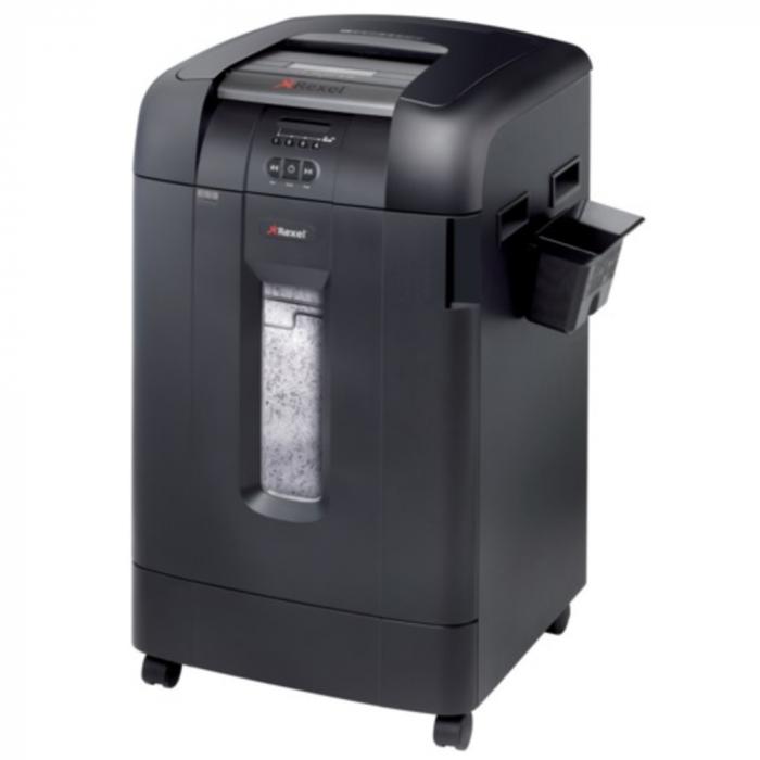 Distrugator Automat documente REXEL Auto+ 750X, 750 coli, P4, cross cut (confeti) [0]