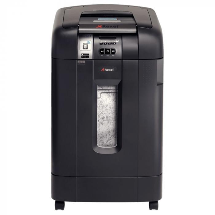 Distrugator Automat documente REXEL Auto+ 750X SmarTech, 750 coli, P4, cross,cut (confeti) [0]