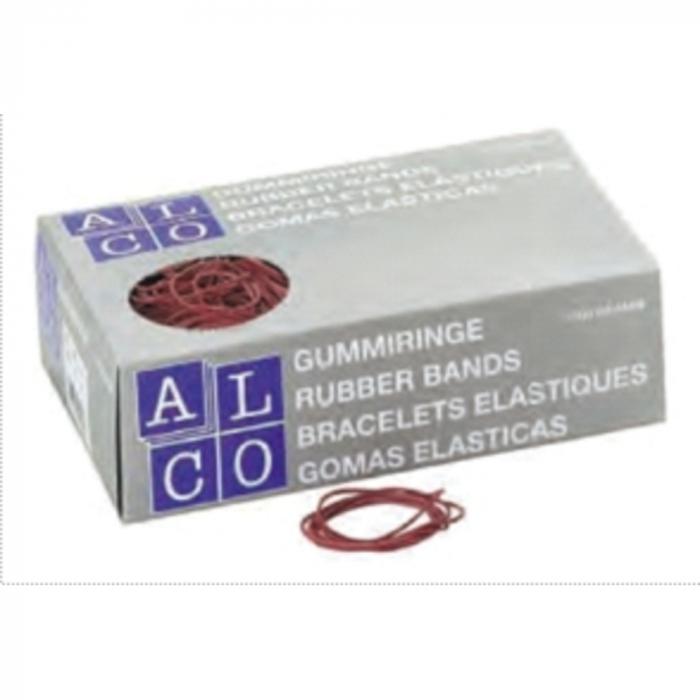 Elastice pentru bani, 1000g/cutie, D 85 x 1,5mm, ALCO 0