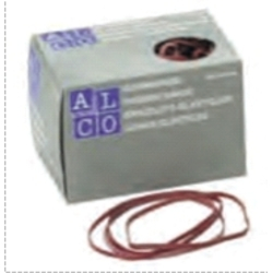 Elastice pentru bani, 500g/cutie, D100 x 5mm, ALCO [0]