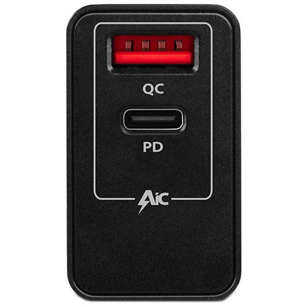 Incarcator retea Axagon Dual USB 5V 3A + 1x Quick Charge3.0, 22W, Negru 1