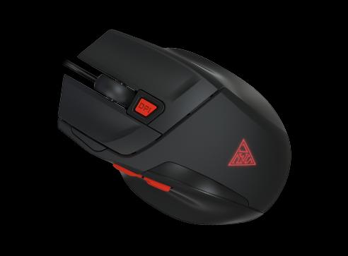 Kit gaming Gamdias Poseidon M2 iluminare RGB negru 5