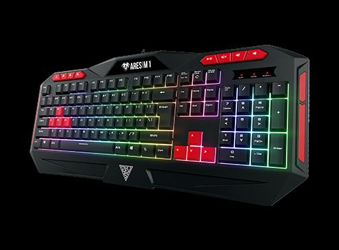 Kit gaming Gamdias Poseidon M2 iluminare RGB negru 3