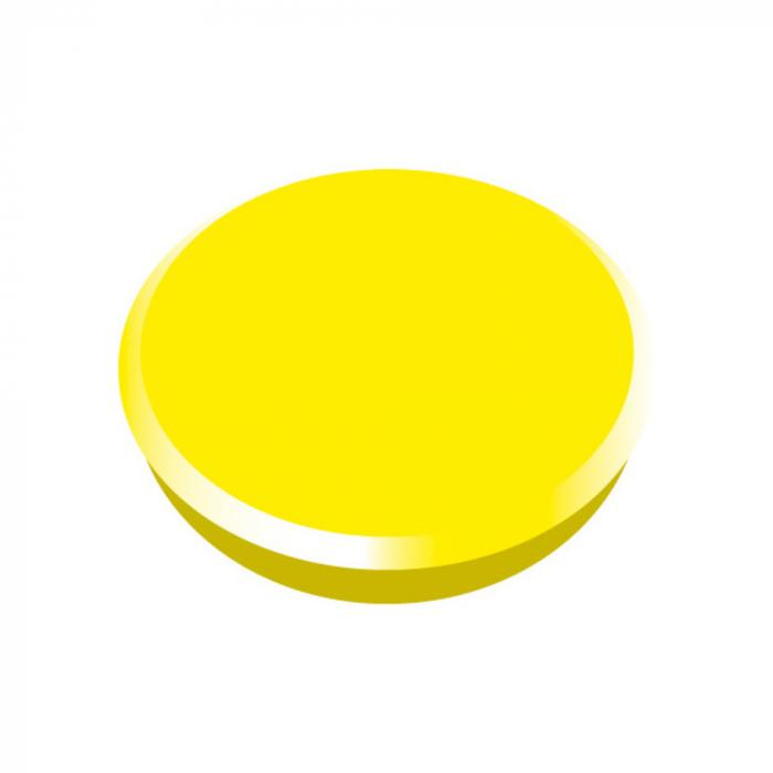 Magneti 24mm, 10 bucati/cutie, ALCO - diferite culori [0]