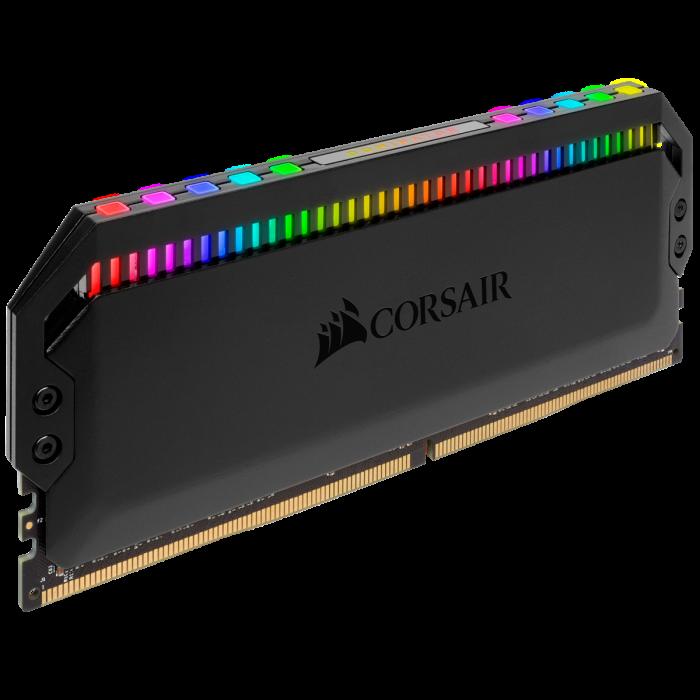 Memorie Corsair Dominator Platinum RGB, 32GB (2 x 16GB), DDR4, 3200MHz, C16 [5]