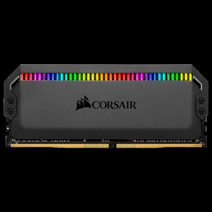 Memorie Corsair Dominator Platinum RGB, 32GB (2 x 16GB), DDR4, 3200MHz, C16 [3]