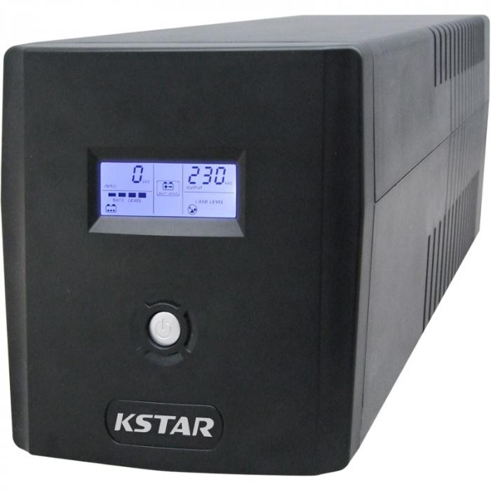 UPS Kstar Micropower Micro 2000VA, LCD, 4x Schuko [0]