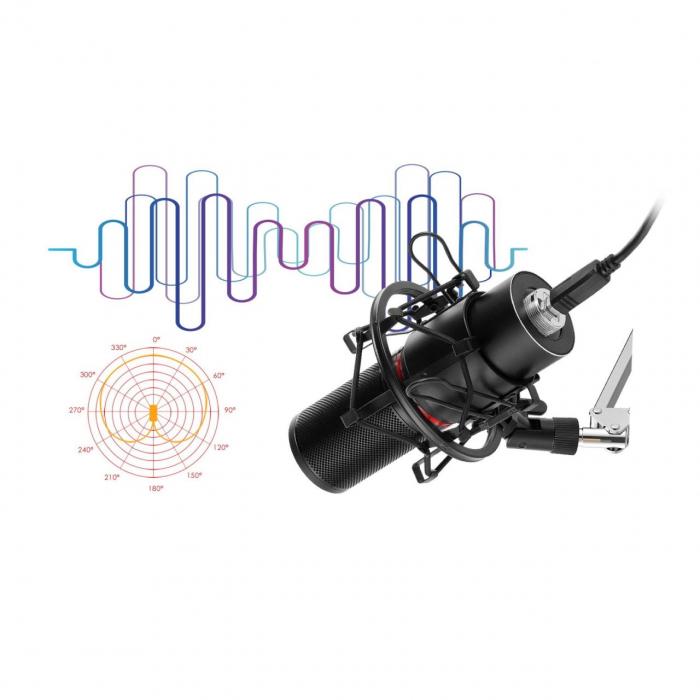 Microfon Redragon Blazar black [2]