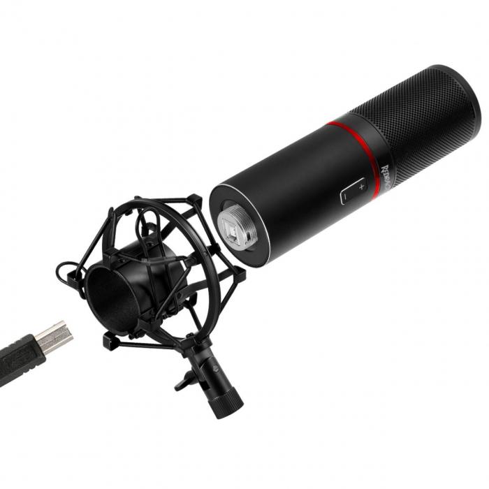 Microfon Redragon Blazar black [3]