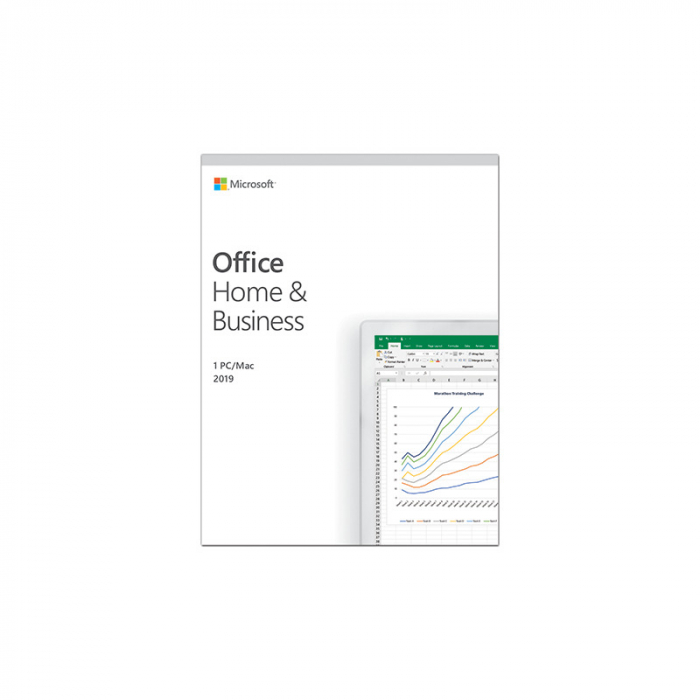 Microsoft Office Home and Business 2019 ENG, 32-bit/x64, 1 PC 1