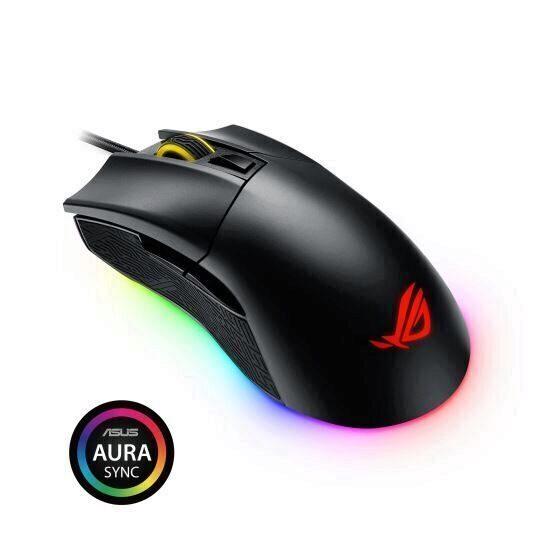 Mouse gaming Asus ROG Gladius II Origin negru [0]