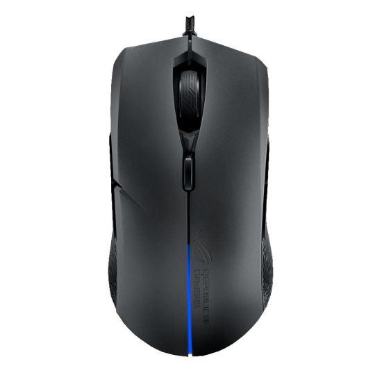 Mouse gaming Asus ROG Strix Evolve negru iluminare RGB [0]