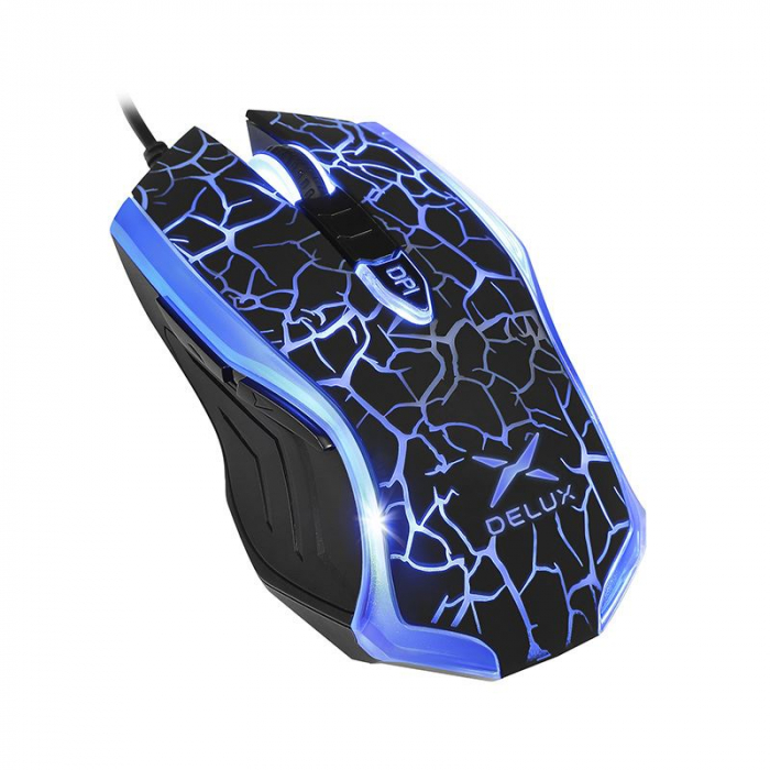 Mouse gaming Delux M557 negru [1]