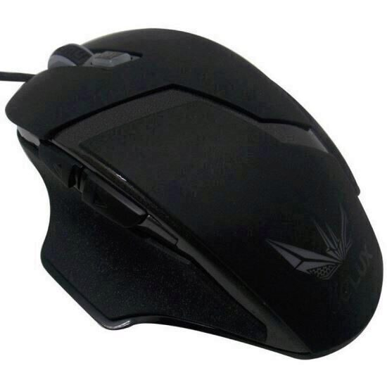 Mouse gaming Delux M612 negru [0]