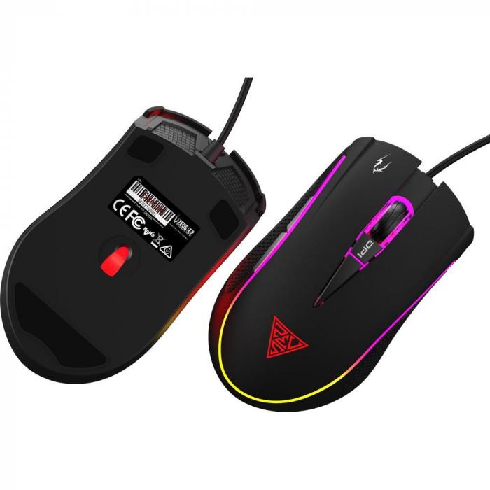 Mouse gaming Gamdias Zeus E2 ilumanare RGB negru + Nyx E1 [16]
