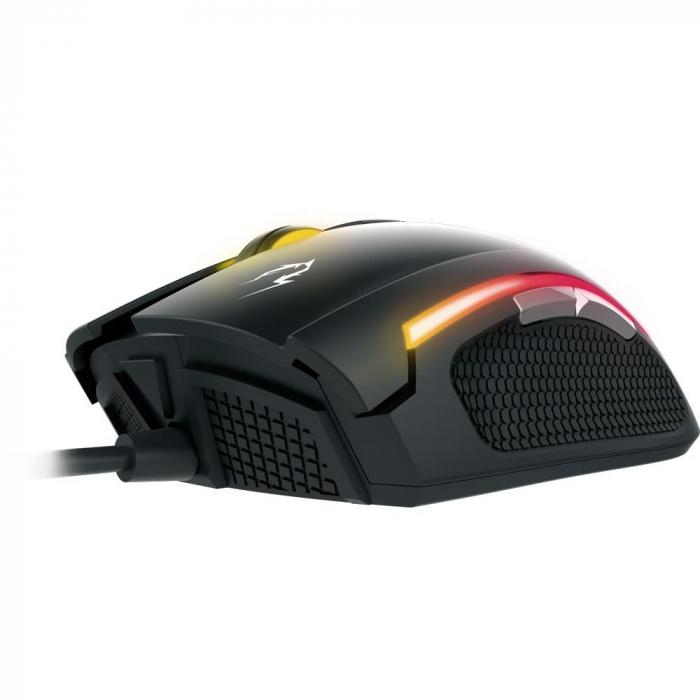 Mouse gaming Gamdias Zeus E2 ilumanare RGB negru + Nyx E1 [11]