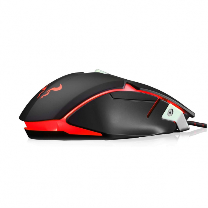 Mouse gaming Riotoro Aurox negru iluminare RGB [5]