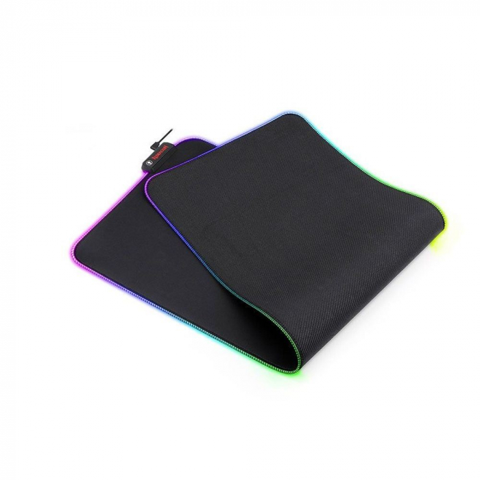Mousepad gaming Redragon Neptune negru iluminare RGB [2]