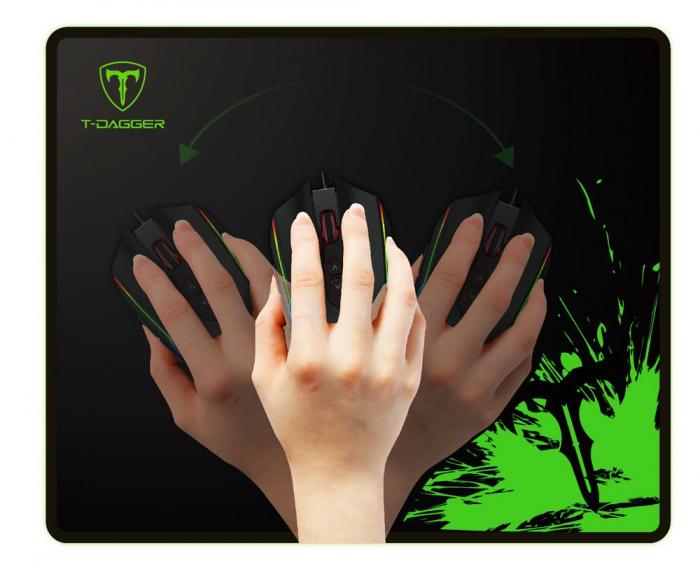 Mousepad gaming T-DAGGER Lava marime M  [1]