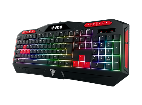 Pachet gaming, Scaun gaming Spacer + Kit gaming Gamdias Poseidon M2 iluminare RGB 7