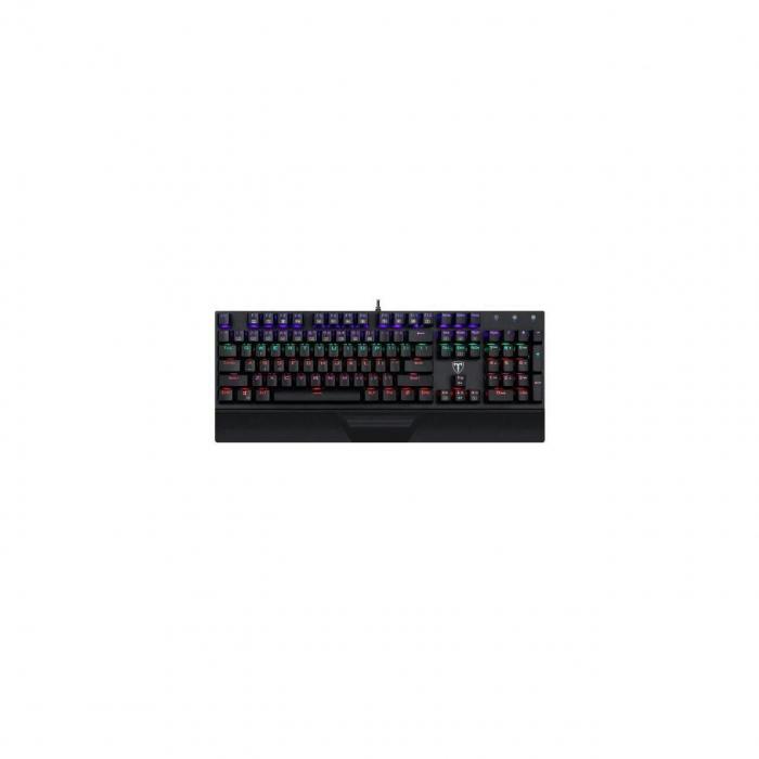 Pachet gaming, tastatura mecanica Destroyer, mouse Second Lieutenant, mousepad, boxe Stentor, microfon Seyfert, camera web Tellur 0