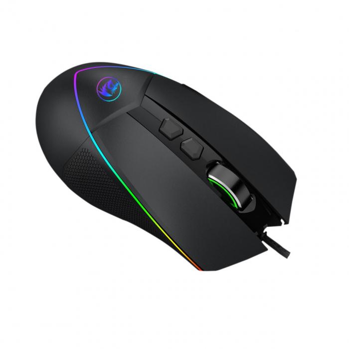 Pachet Redragon tastatura gaming Shiva + mouse gaming Emperor + mousepad gaming Taurus 12
