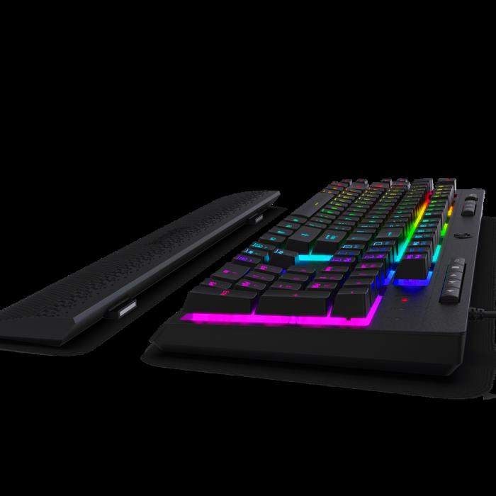 Pachet Redragon tastatura gaming Shiva + mouse gaming Emperor + mousepad gaming Taurus 5