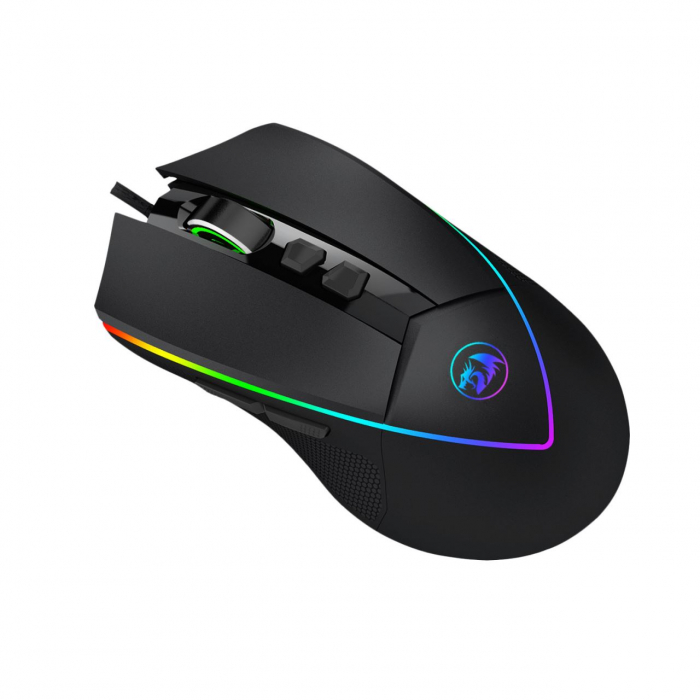 Pachet Redragon tastatura gaming Shiva + mouse gaming Emperor + mousepad gaming Taurus 10