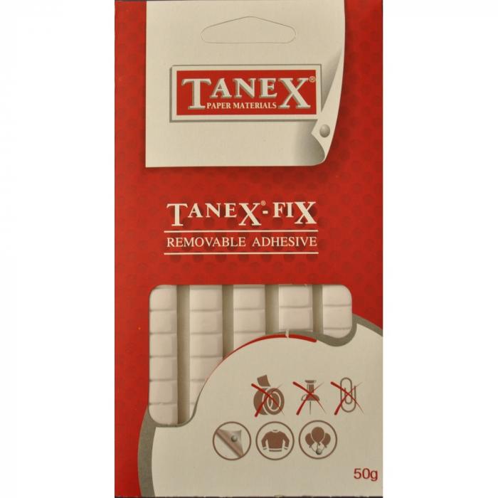 Pastile adezive nepermanente, 50gr, 85buc/set, Tanex Fix 0