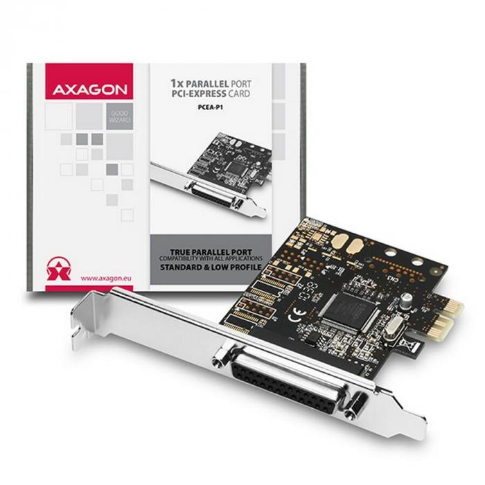 PCI-Express Adapter 1x Parallel Port + LP [7]