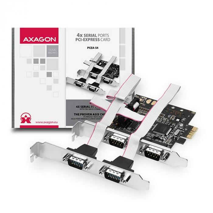 PCI-Express Adapter 4x Serial Port [1]