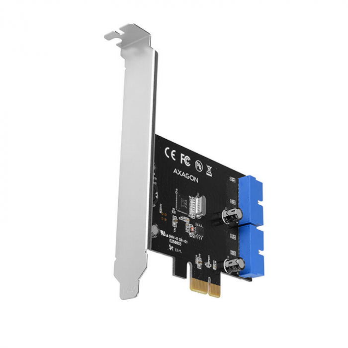 PCI-Express Adapter PCEU-034VL, USB3.0, UASP VIA + LP [0]