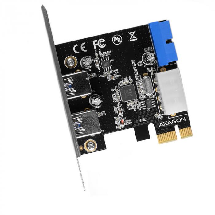 PCI-Express Adapter PCEU-232VL, 2+2 USB3.2 gen1 + LP [5]