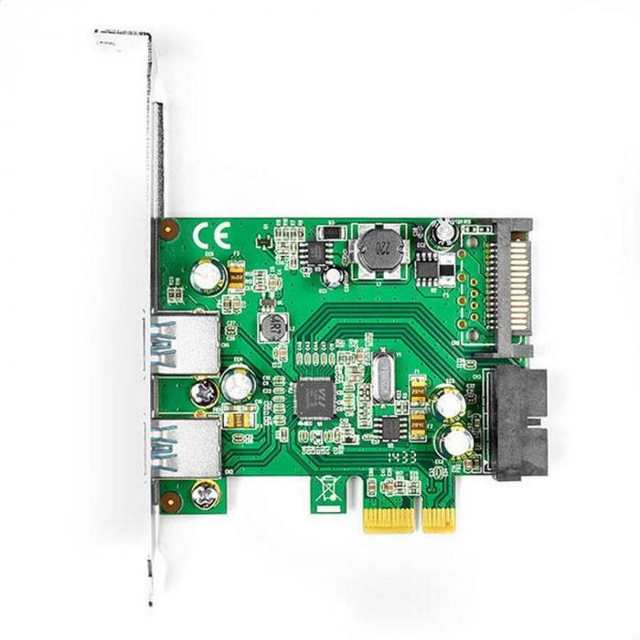 PCIe Adapter 2+2x USB3.0 UASP VIA + LP [0]