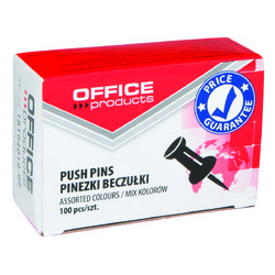 Pioneze panou pluta, 100 buc/cutie, Office Products 0