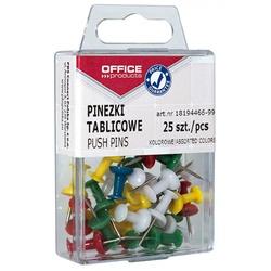Pioneze panou pluta, 25 buc/cutie, Office Products 0